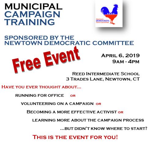 Municipal Campaign Training Flyer forDTC website